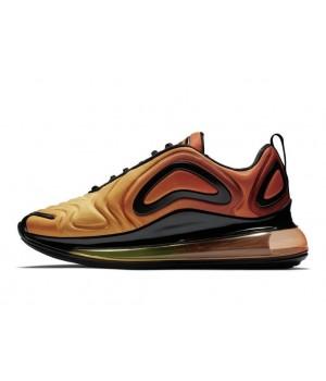 Зимние кроссовки Nike Air Max 720 оранжевые
