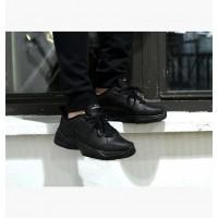 Кроссовки Nike Air Monarch IV Black With Fur черные