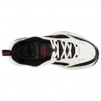 Кроссовки Nike Air Monarch IV White/Black белым с черным