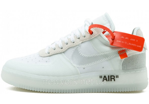 Nike кроссовки Air Force 1 Low x Off White White