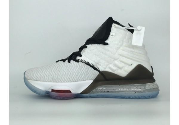 Кроссовки Nike Lebron черно-белые