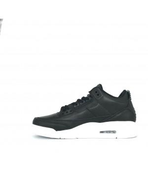 Кроссовки Nike Air Jordan кожаные моно черные
