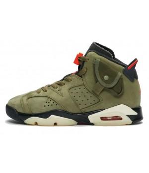 Кроссовки Nike Air Jordan хаки
