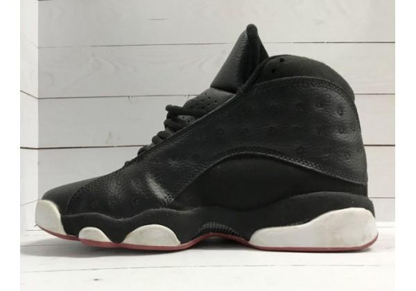 Кроссовки Nike Air Jordan черные моно