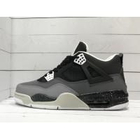 Кроссовки Nike Air Jordan черно-серые с блестками