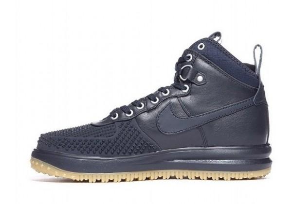 Кроссовки Nike Lunar Force 1 высокие синие