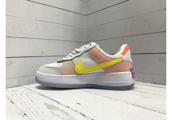 Nike Air Force мульти белые