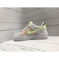 Nike Air Force мульти салатовые