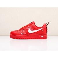 Кроссовки Nike Air Force 1 LV8 Utility красные
