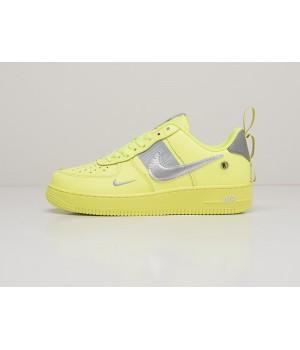 Кроссовки Nike Air Force 1 LV8 Utility зеленые
