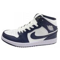 Кроссовки Nike Air Jordan бело-синие