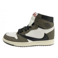 Кроссовки Nike Air Jordan бело-зеленые