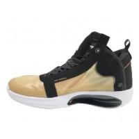 Кроссовки Nike Air Jordan желто-черные