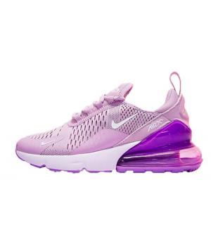 Женские кроссовки Nike Air Max 270 Pink Blue