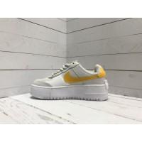 Кроссовки Nike Air Force 1 мульти желтые