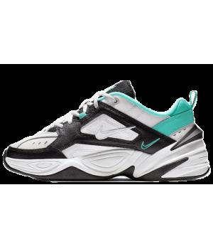 Кроссовки Nike M2k Tekno белые с зеленым