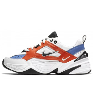 Nike M2k Tekno белые с синим