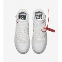 Кроссовки Nike Air Force 1 Low The Ten белые