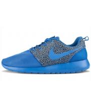 Кроссовки Nike Roshe Run Premium голубые