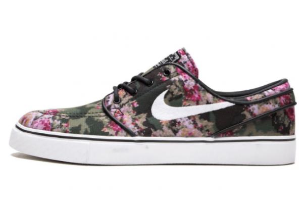 Кеды Nike Zoom Stefan Janoski PR цветочные