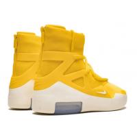 Кроссовки Nike Air Fear Of God 1 желтые