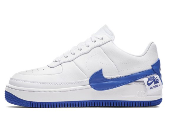 Кроссовки Nike Air Force 1 Low Jester белые с синим