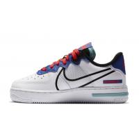Кроссовки женские Nike Air Force 1 React GS белые