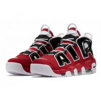 Nike Air More Uptempo 96 Red Black