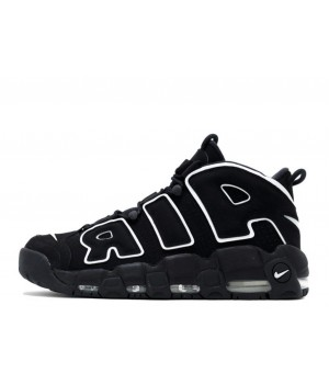 Nike Air More Uptempo 96 Black White