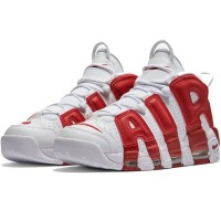 Nike Air More Uptempo 96 White Red