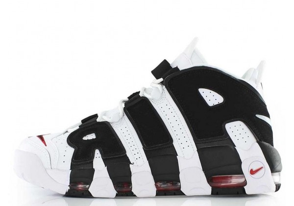 Nike Air More Uptempo 96 White Black