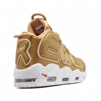 Nike Air More Uptempo 96 Gold White