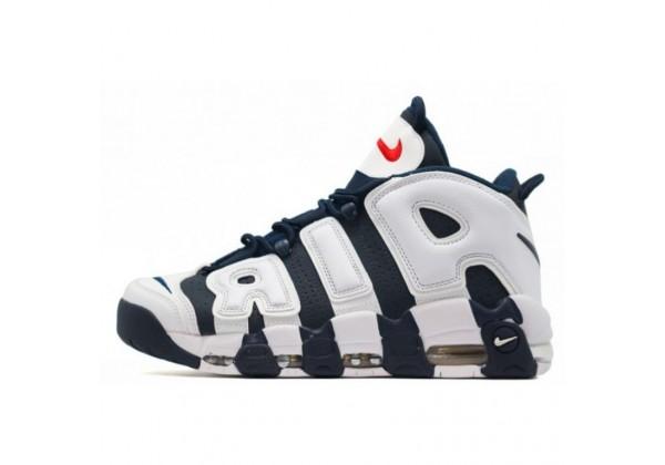 Nike Air More Uptempo 96 Blue White
