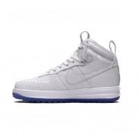 Кроссовки Nike Lunar Force 1 высокие белые
