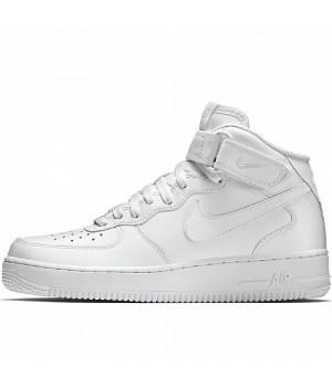 Кроссовки Nike Ebernone Mid белые