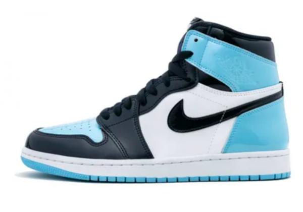 Nike Air Jordan Retro 1 High Blue (Голубые)