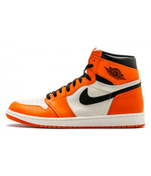 Nike Air Jordan Retro 1 High Og Orange (Оранжевые)