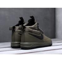 Кроссовки Nike Lunar Force 1 высокие зеленые