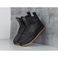 Кроссовки Nike Lunar Force 1 высокие черные