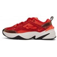 Кроссовки Nike M2k Tekno красные