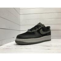 Кроссовки Nike Air Force черные с серым