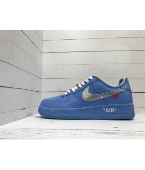 Кроссовки Nike Air Force голубые