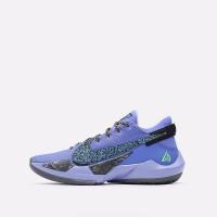 Баскетбольные кроссовки Nike Zoom Freak 2 синие