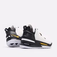 Баскетбольные кроссовки Nike Lebron XVIII черно-белые
