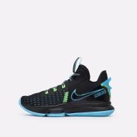 Баскетбольные кроссовки Nike Lebron Witness V черные