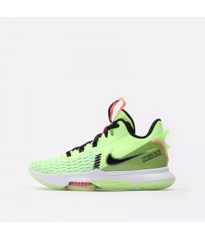 Баскетбольные кроссовки Nike Lebron Witness V салатовые