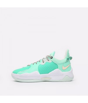 Баскетбольные кроссовки Nike PG 5 голубые