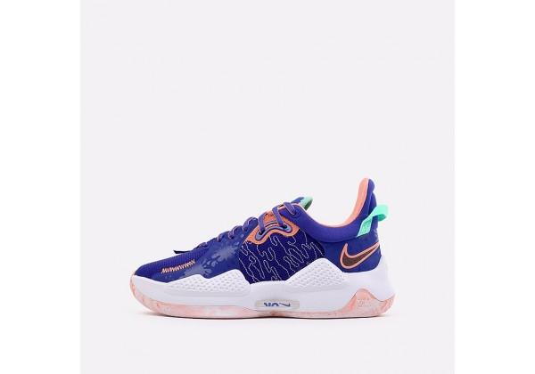 Баскетбольные кроссовки Nike PG 5 синие