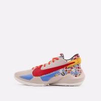 Баскетбольные кроссовки Nike Zoom Freak 2 бежевые