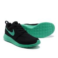 Кроссовки Nike Roshe Run зеленые